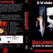 Halloween V - Die Rache des Michael Myers (1989) R2 German Cover