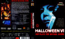 Halloween 6 - Der Fluch des Michael Myers (1995) R2 German Cover