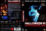 Halloween 6 – Der Fluch des Michael Myers (1995) R2 German Cover
