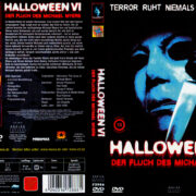 Halloween 6 - Der Fluch des Michael Myers (1995) R2 German Cover