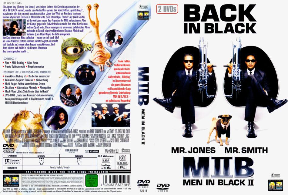 Men In Black 2 Dvd Cover 2002 R2 German