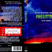 Predator 2 (1990) R2 German Cover