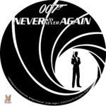 007 – Never Say Never Again (1983) R1 Custom Labels