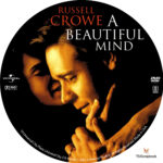 A Beautiful Mind (2001) R1 Custom Label