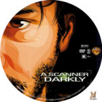 A Scanner Darkly (2006) R1 Custom Label