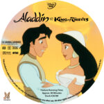 Aladdin and the King of Thieves (1996) R1 Custom Labels