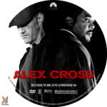 Alex Cross (2012) R1 Custom Label