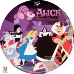 Alice in Wonderland (1951) R1 Custom Labels