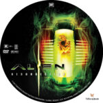 Alien Resurrection (1997) R1 Custom Label