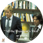 All the President's Men (1976) R1 Custom Label