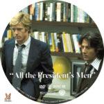 All the President's Men (1976) R1 Custom Label