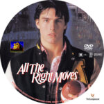 All the Right Moves (1983) R1 Custom Label