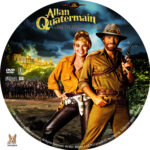 Allan Quatermain: The Lost City of Gold (1987) R1 Custom Label