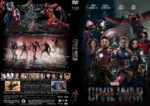 Captain America: Civil War (2016) R1 Custom DVD Cover