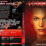 Species 2 (1998) R2 German Blu-Ray Cover