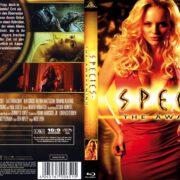 Species 4: The Awakening (2007) R2 German Blu-Ray Cover