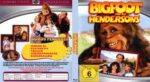 Bigfoot und die Hendersons (1987) R2 German Blu-Ray Cover