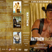 Matthew McConaughey Collection – Set 2 (2006-2012) R1 Custom Covers