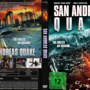 San Andreas Quake (2015) R2 German Custom Cover & label