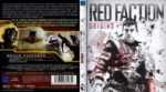 Red Faction: Origins (2011) R2 German Blu-Ray Custom Cover & label