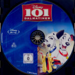 101 Dalmatiner (1961) R2 German Blu-Ray Label