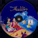 Aladdin (1992) R2 German Blu-Ray Label