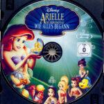 Arielle, die Meerjungfrau – Wie alles begann (2008) R2 German Blu-Ray Label