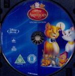 Aristocats (1970) R2 Blu-Ray Label