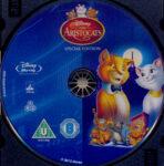 Aristocats (1970) R2 Blu-Ray Label