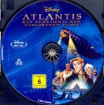 Atlantis – Das Geheimnis der verlorenen Stadt (2001) R2 German Blu-Ray Label