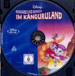 Bernard und Bianca im Känguruhland (1990) R2 German Blu-Ray Label