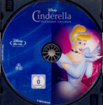 Cinderella (1950) R2 German Blu-Ray Label