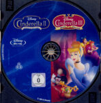 Cinderella 2 & 3 (2012) R2 German Blu-Ray Label