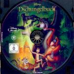 Das Dschungelbuch (1967) R2 German Blu-Ray Label