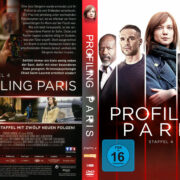 Profiling Paris: Staffel 4 (2013) R2 German Custom Cover & labels