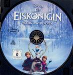 Die Eiskönigin – Völlig unverfroren (2013) R2 German Blu-Ray Label