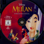 Mulan (1998) R2 German Blu-Ray Label