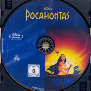 Pocahontas (1995) R2 German Blu-Ray Label