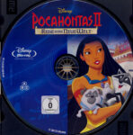 Pocahontas 2 – Die Reise in eine neue Welt (1998) R2 German Blu-Ray Label