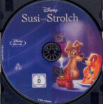 Susi und Strolch (1955) R2 German Blu-Ray Label