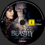 Beastly (2011) R2 German Custom Blu-Ray Label