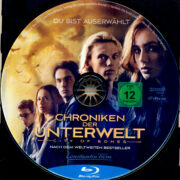 Chroniken der Unterwelt – City of Bones (2013) R2 German Blu-Ray Label