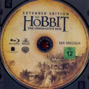 Der Hobbit - Eine unerwartete Reise (2012) R2 German Blu-Ray Labels