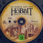 Der Hobbit - Smaugs Einöde (2013) R2 German Blu-Ray Labels
