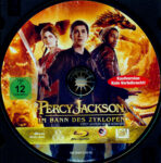 Percy Jackson: Im Bann des Zyklopen (2013) R2 German Blu-Ray Label