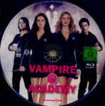 Vampire Academy (2014) R2 German Blu-Ray Label