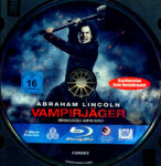 Abraham Lincoln Vampirjäger (2012) R2 German Blu-Ray Label