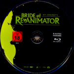Bride of Re-Animator (1989) R2 German Blu-Ray Labels