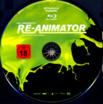 Re-Animator (1985) R2 German Blu-Ray Labels