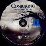 Conjuring – Die Heimsuchung (2013) R2 German Blu-Ray Label